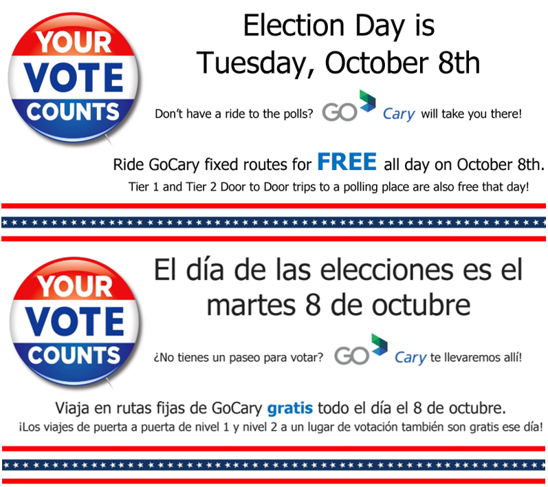 Free Rides on Election Day