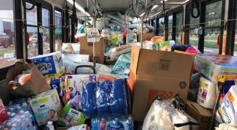 Fill the bus hurricane drive